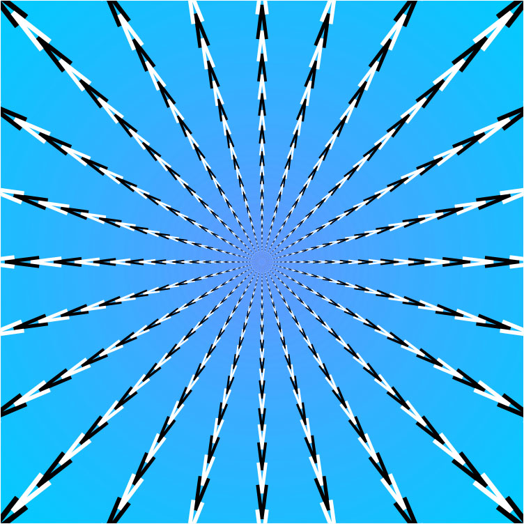Op Art Razzle Dazzle ArtJanet Randazzo Gorgeous Pattern Art Definition