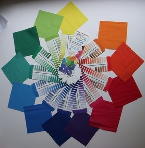 I Can Create An Interesting Color Wheel Use Theory Techniques To Mix The Primary Colors Make Secondary And Intermediate